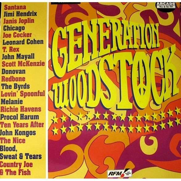 Generation Woodstock By Procol Harum Ten Years After