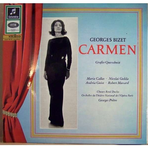 Georges Bizet Maria Callas Nicolai Gedda Carmen Grosser Querschnitt