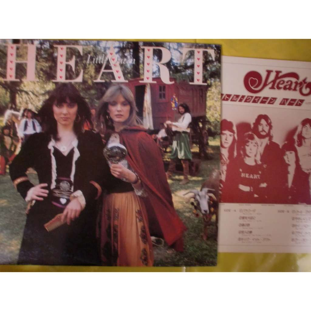 Heart Little Queen Vinyl Heart Little Queen