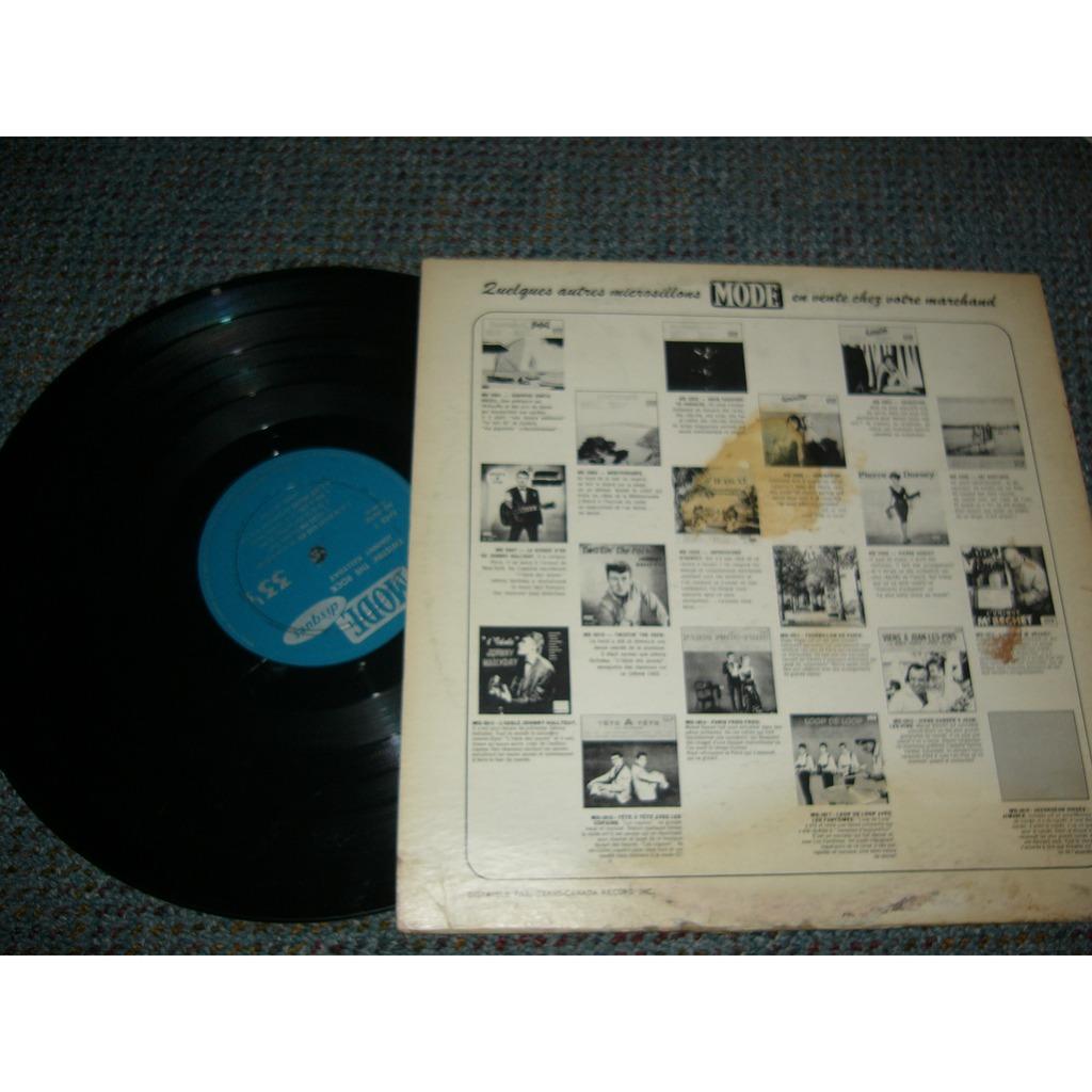 Johnny Hallyday Twistin the rock pressage canadien