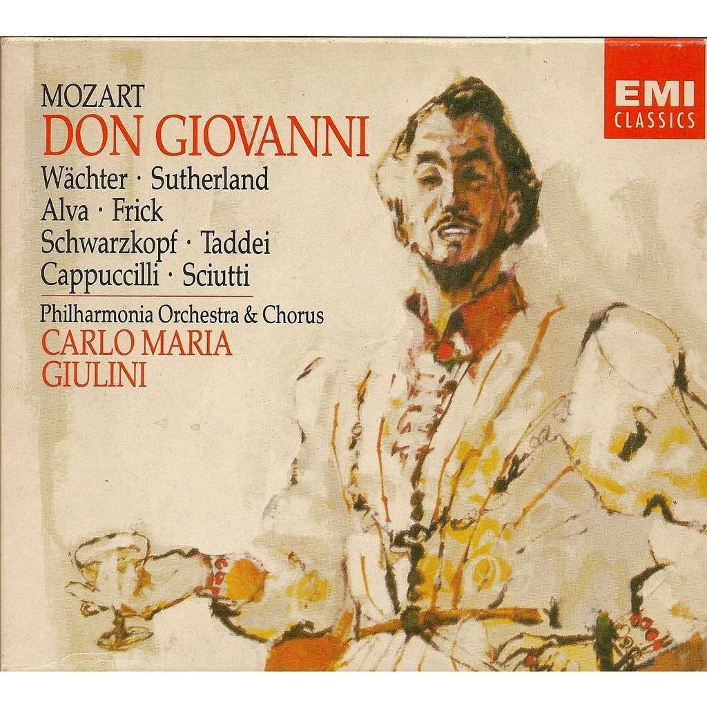 Mozart don giovanni by carlo maria giulini cd x 3 with - Carlos maria ...