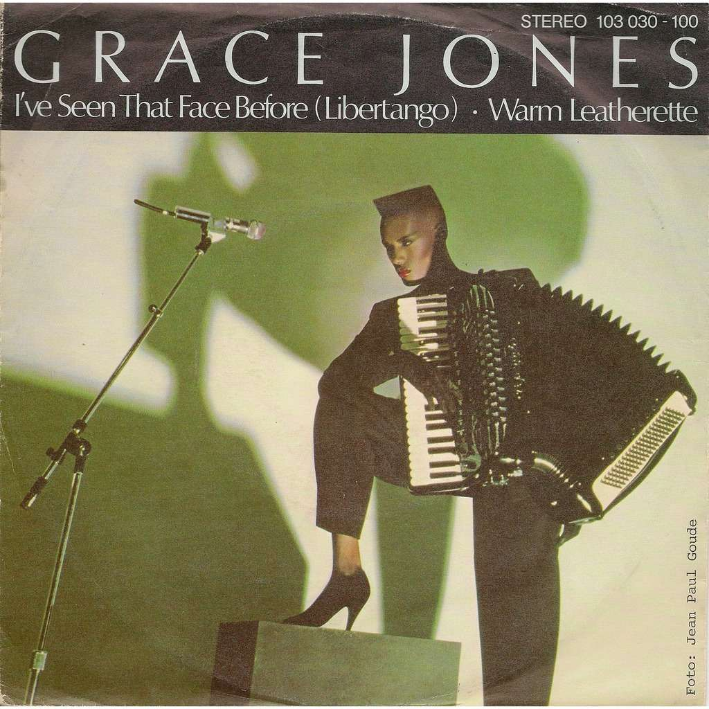 grace jones i've seen that face before / warm leatherette