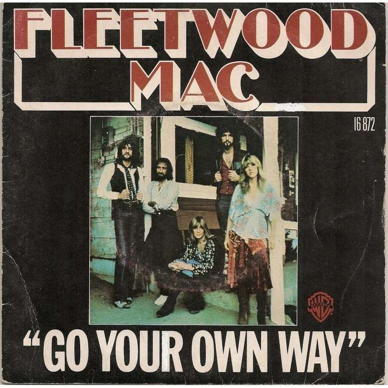 Image result for fleetwood mac go your own way