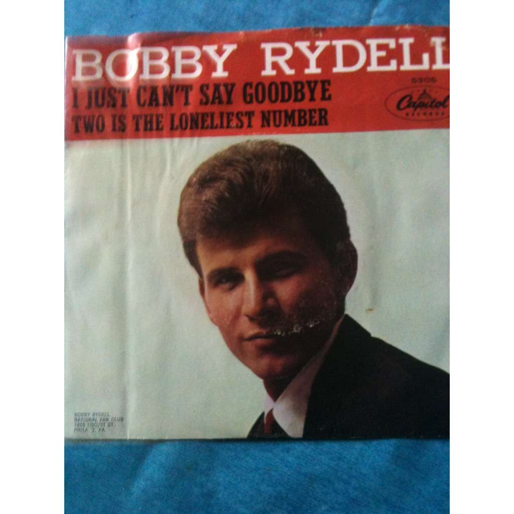 Bobby RYDELL I just can't say goodbye
