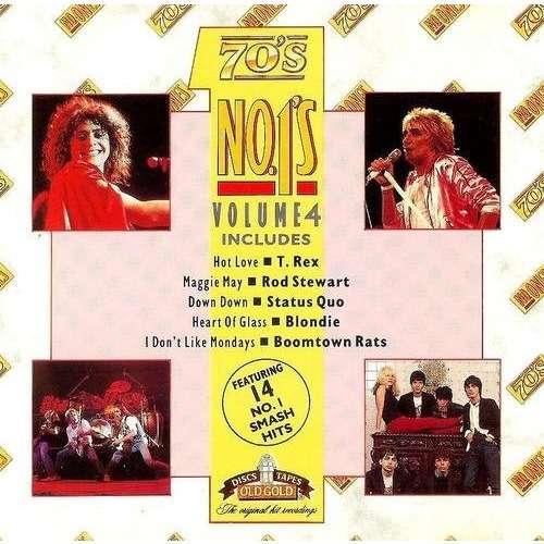 T.Rex / Status Quo / Jimi Hendrix Experience /10CC 70's No.1's Vol.4