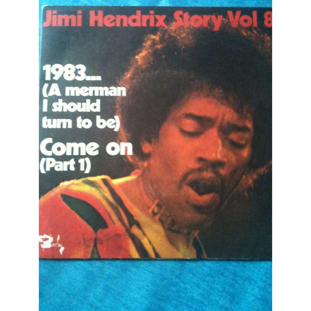 Jimi HENDRIX 1983... (A merman I should turn be)
