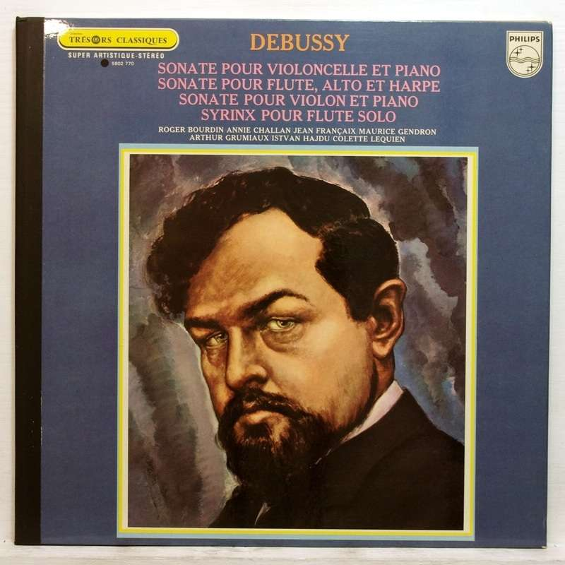 <b>Maurice Gendron</b> / Arthur Grumiaux Debussy Sonata for cello &amp; piano / Sonata <b>...</b> - 117259352