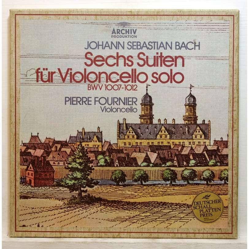 pierre fournier bach cello suites vinyl