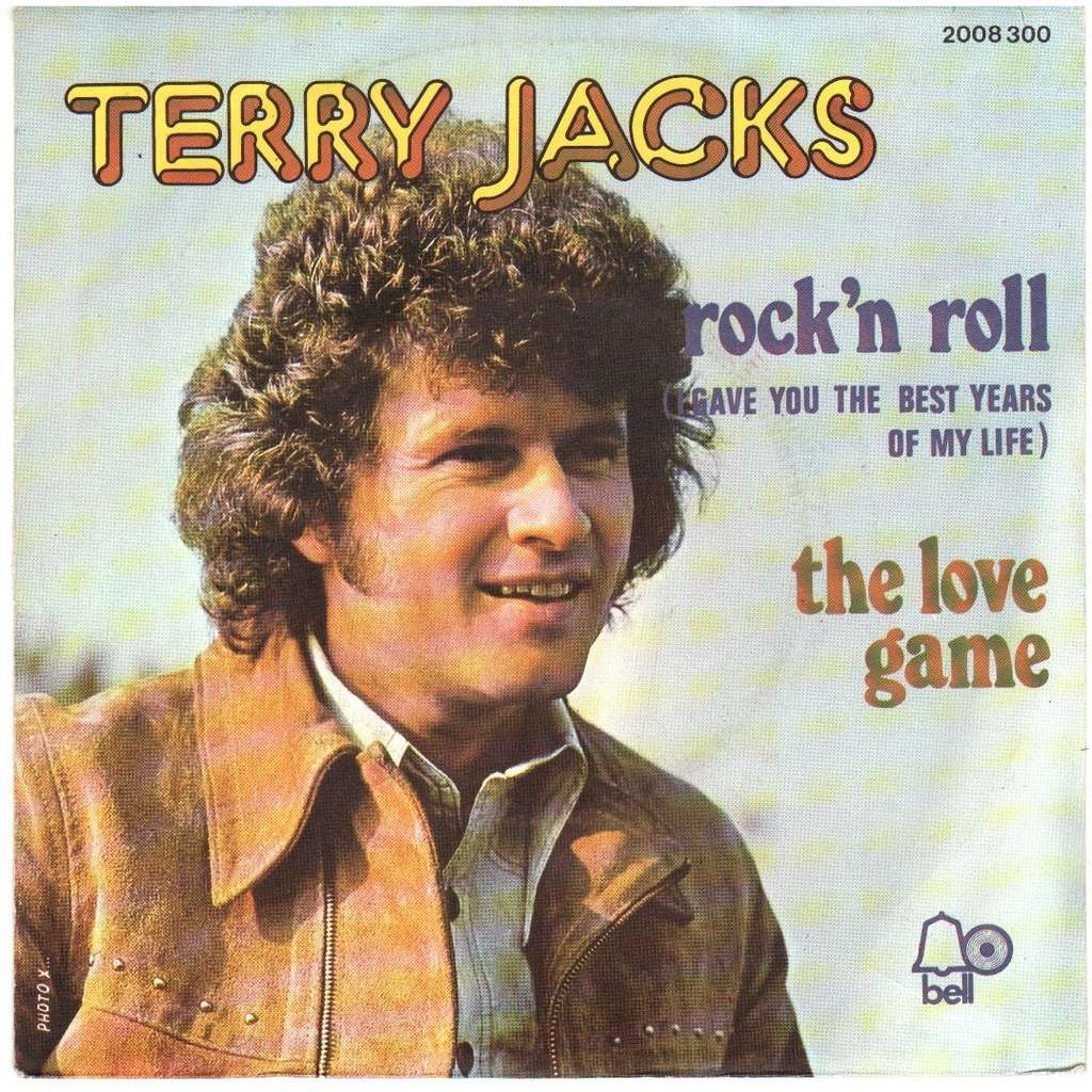 Rock N Roll The Love Game By Terry Jacks Sp With Disclo