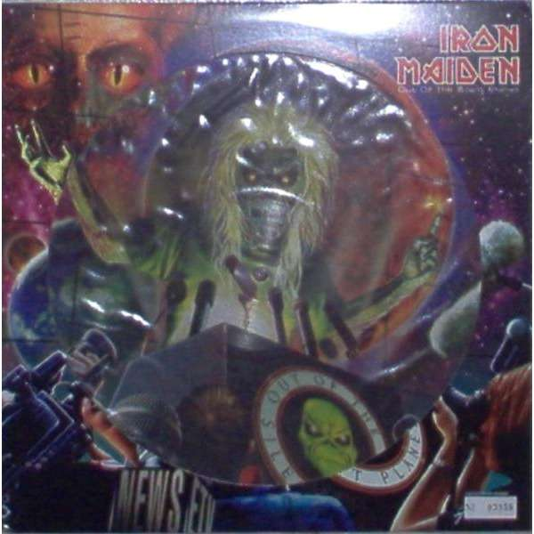 iron maiden Out Of The Silent Planet (UK 2000 Ltd 3-trk 12EP Picture Disc die-cut ps & insert)