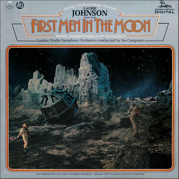 Laurie Johnson First Men In The Moon