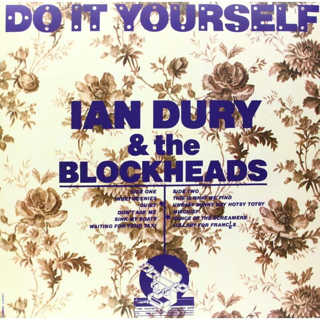 Do it yourself free download card by ian dury the blockheads lp ian dury the blockheads do it yourself free download card solutioingenieria Choice Image