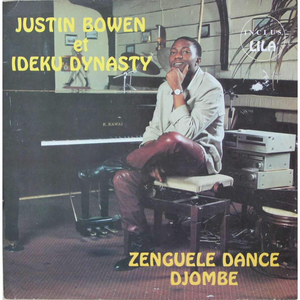 Justin Bowen Et Ideku Dynasty Zenguele Dance Djombe
