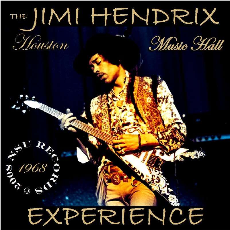 Houston Texas 1968 February 18th Ltd Cd By The Jimi