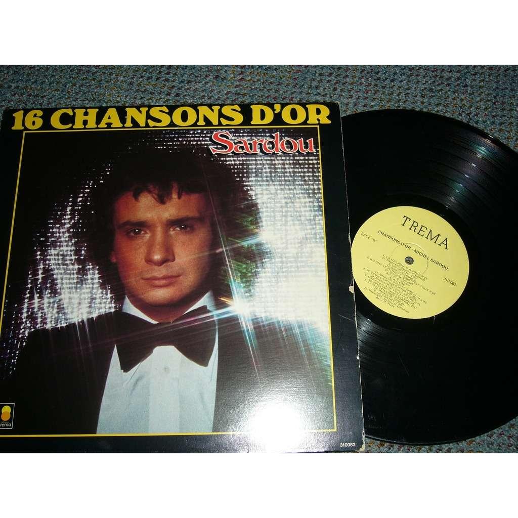 Michel Sardou 16 chansons d'or Sardou pressage canadien