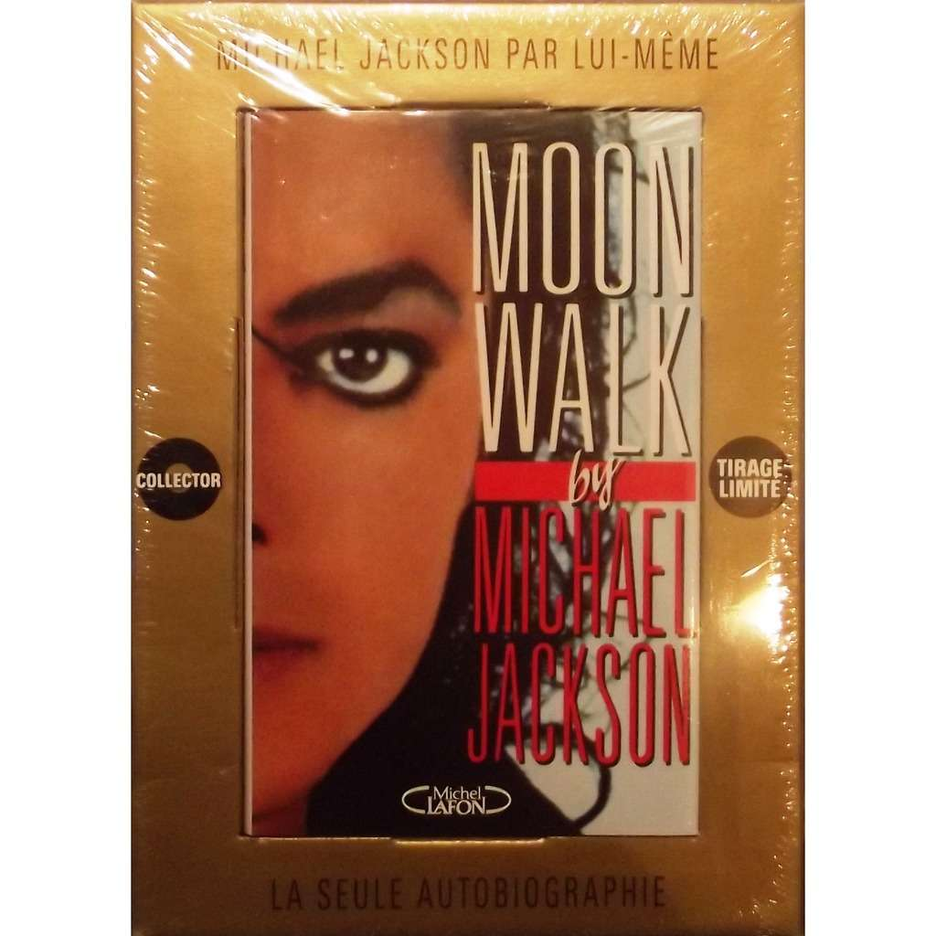 moon walk book livre coffret collector dition limit de michael jackson livre chez. Black Bedroom Furniture Sets. Home Design Ideas