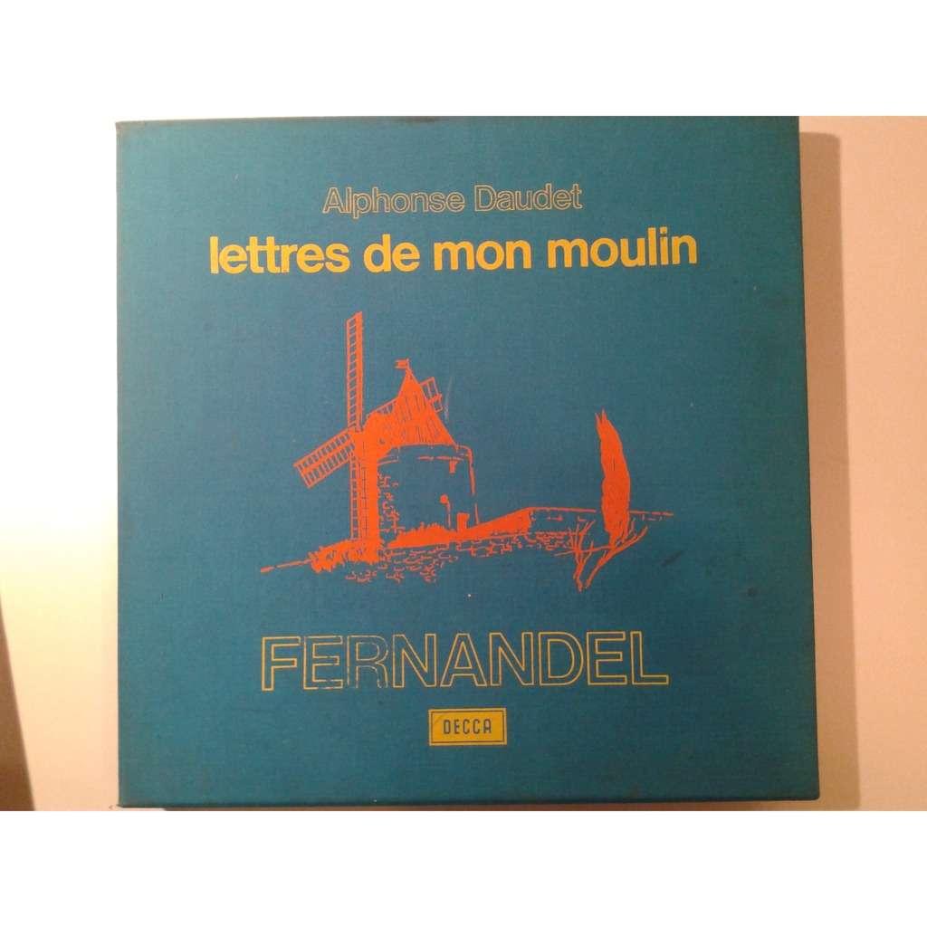 FERNANDEL A. DAUDET - LETTRES DE MON MOULIN AVEC LIVRET