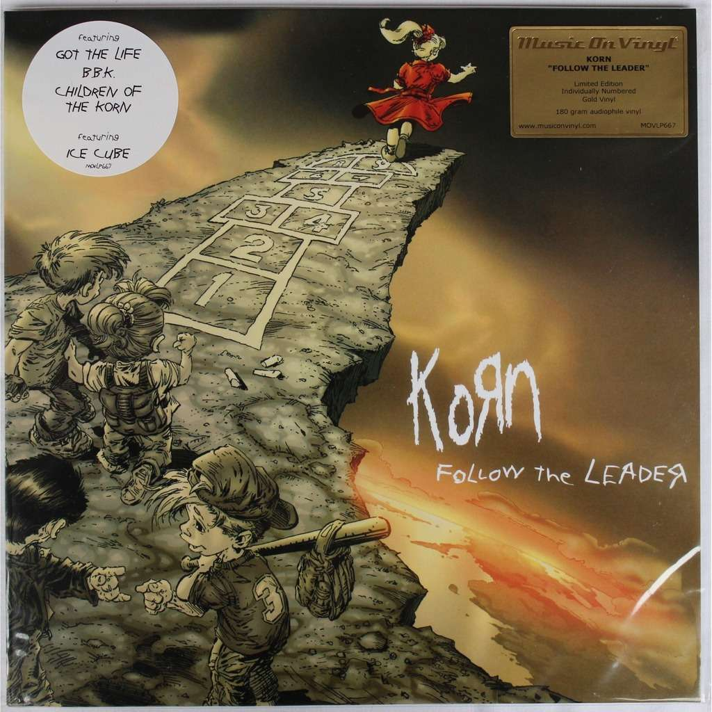 Follow The Leader Color Vinyl N 176 230 2000 By Korn Lp X 2