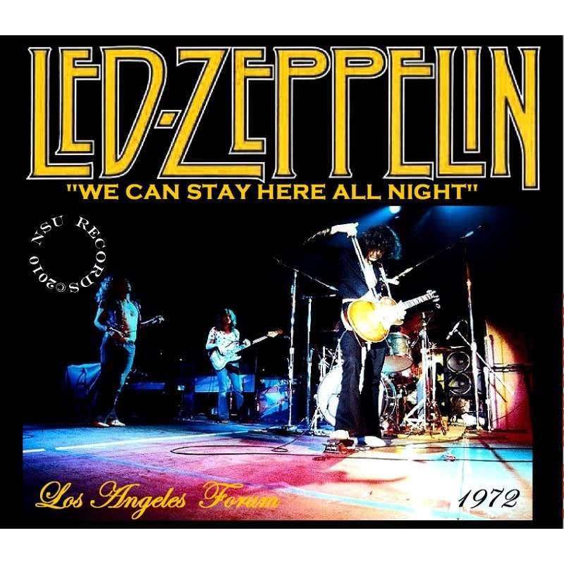 Live Los Angeles Forum 6 25 1972 3cd By Led Zeppelin Cd X
