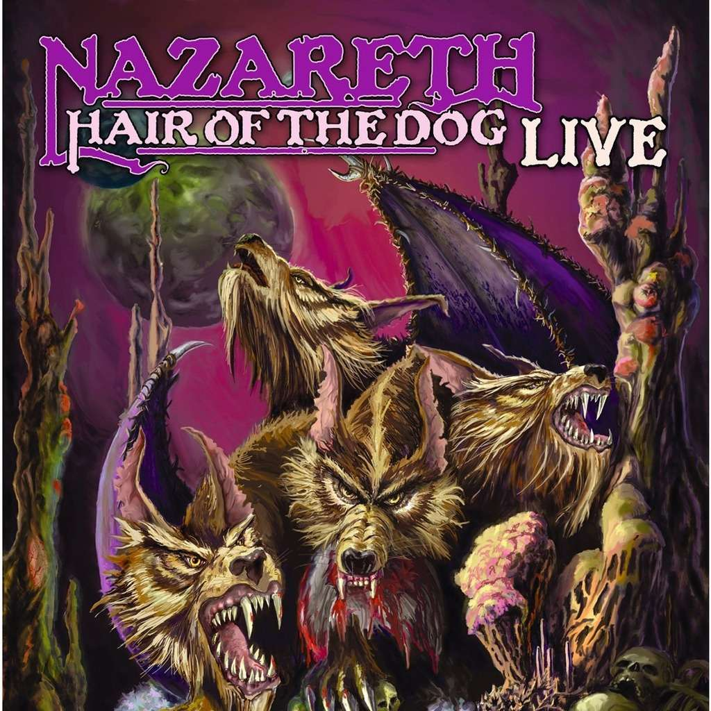 Hair Of The Dog Live By Nazareth Cd With Kamchatka Ref