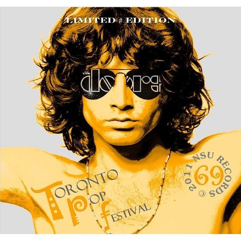 jim morrison u0026 the doors TORONTO POP FESTIVAL 1969 09.13 LTD CD  sc 1 st  CD and LP & Toronto pop festival 1969 09.13 ltd cd by Jim Morrison u0026 The Doors ...