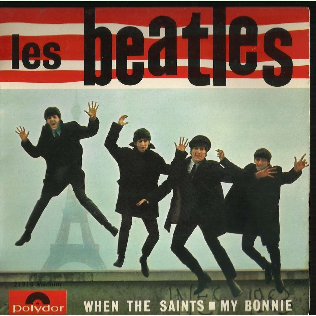 the beatles when the saints