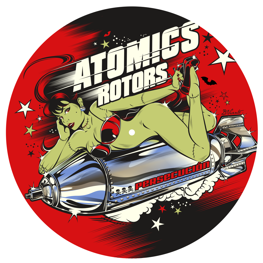 BE FAST : ATOMICS ROTORS PERCECUSIÒN - 33 1/3 RPM Gatefold