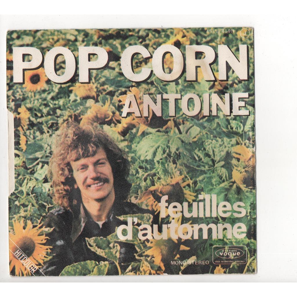 Antoine Pop corn - Feuilles d'automne