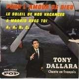 Tony Dallara ep pour l'amour de Dieu+3