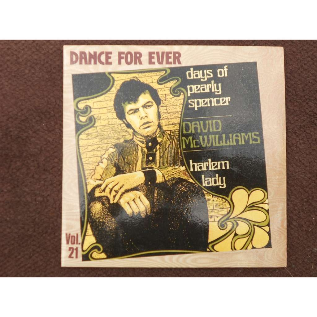 david mcwilliams day of pearly spencer - harlem lady (reissue dance for ever)