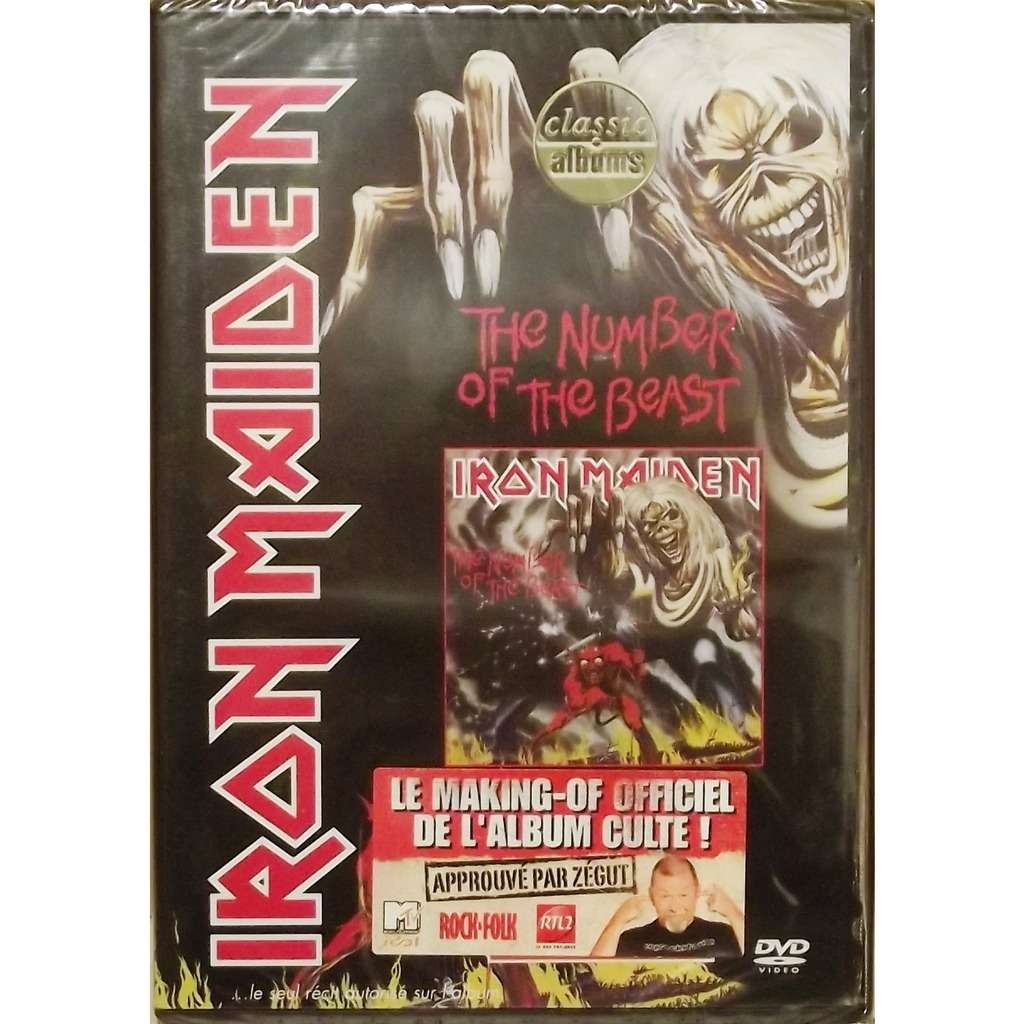 Iron Maiden The Number Of The Beast (DVD)