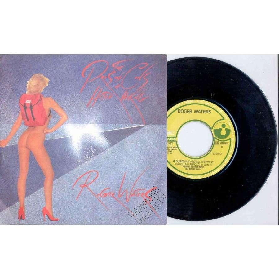 Pink Floyd / Roger Waters 5:01 AM (Italian 1984 2-trk promo 7single full ps)