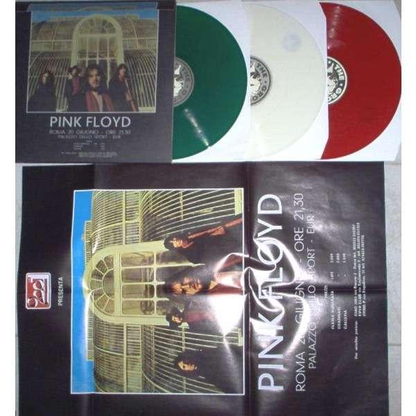 Pink Floyd Roma 20 Giugno 1971 (Ltd 300 copies 3LP Color wax gf ps & poster)