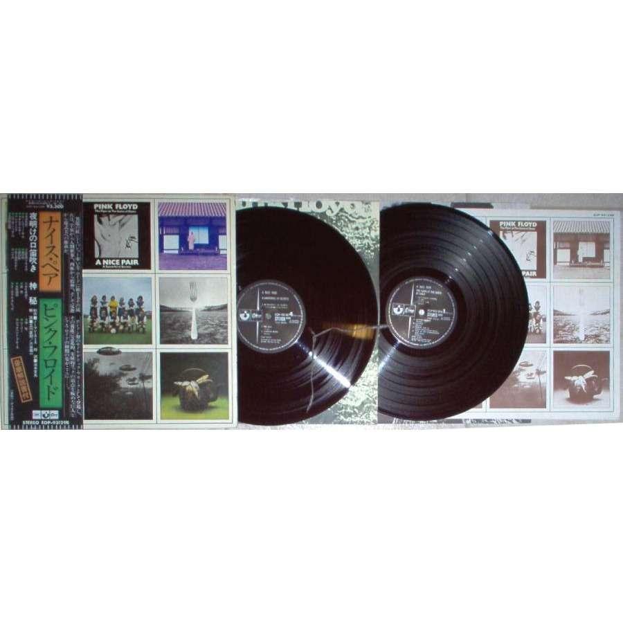 Pink Floyd A Nice Pair (Japan 1974 original 18-trk 2LP on Odeon black lbl gf ps & exclusive deluxe booklet)