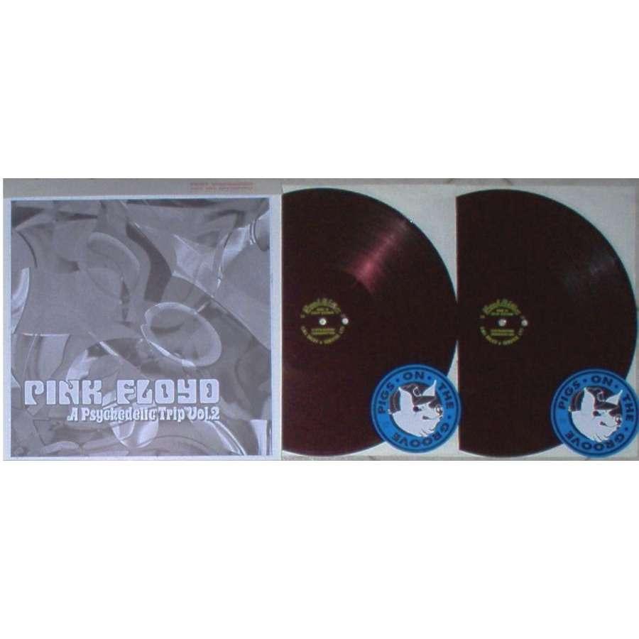 Pink Floyd A Psychedelic Trip Vol.2 ('Emidisc' lbl Test Press 2LP Metal Acetate Test Press ps)