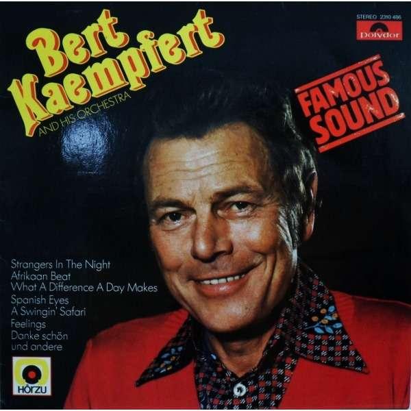 Famous sound danke sch 246 n by bert kaempfert amp his orchestra lp with