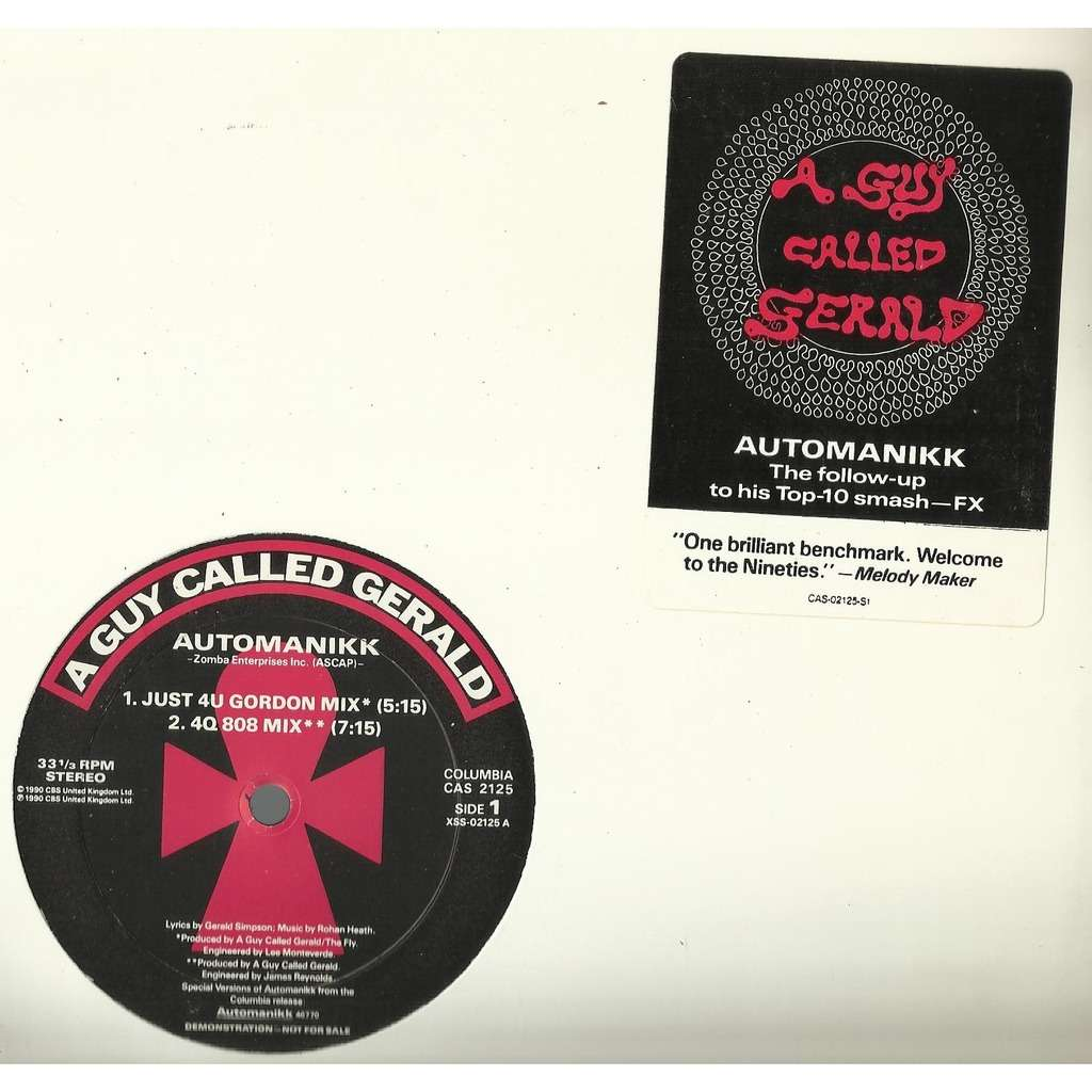 A GUY CALLED GERALD automanikk - 4mix / voodoo ray americas