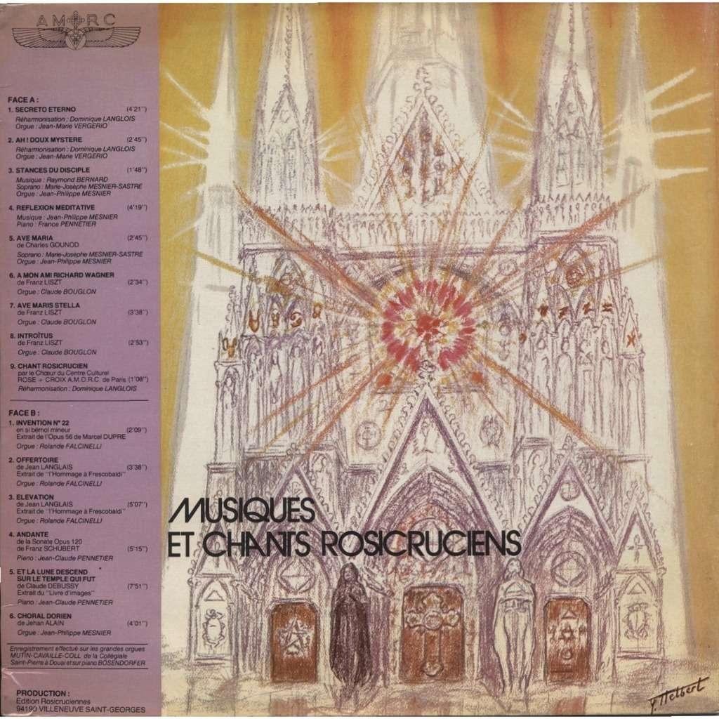 Musique Et Chants Rosicruciens J Philippe Marie Josephe Mesnier