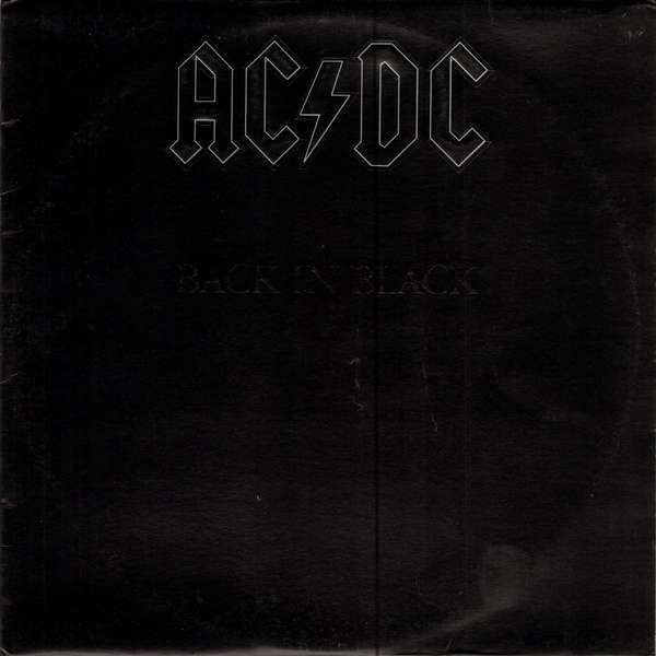 Back In Black By Ac Dc Lp With Beltree Ref 117305452