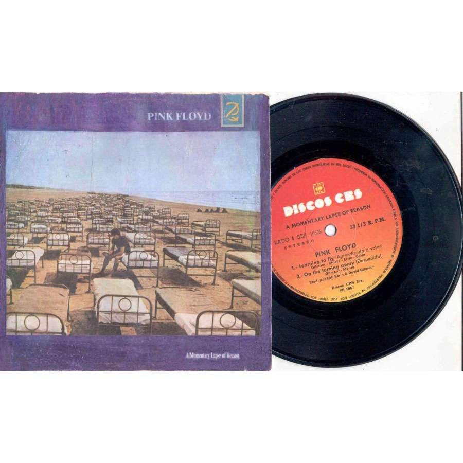 Pink Floyd A Momentary Laps Of Rason (Bolivia 1987 4-trk 7EP absolutely unique full ps)