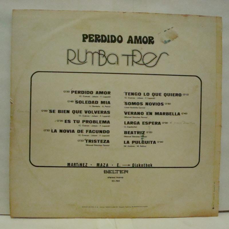 Rumba Tres Perdido Amor