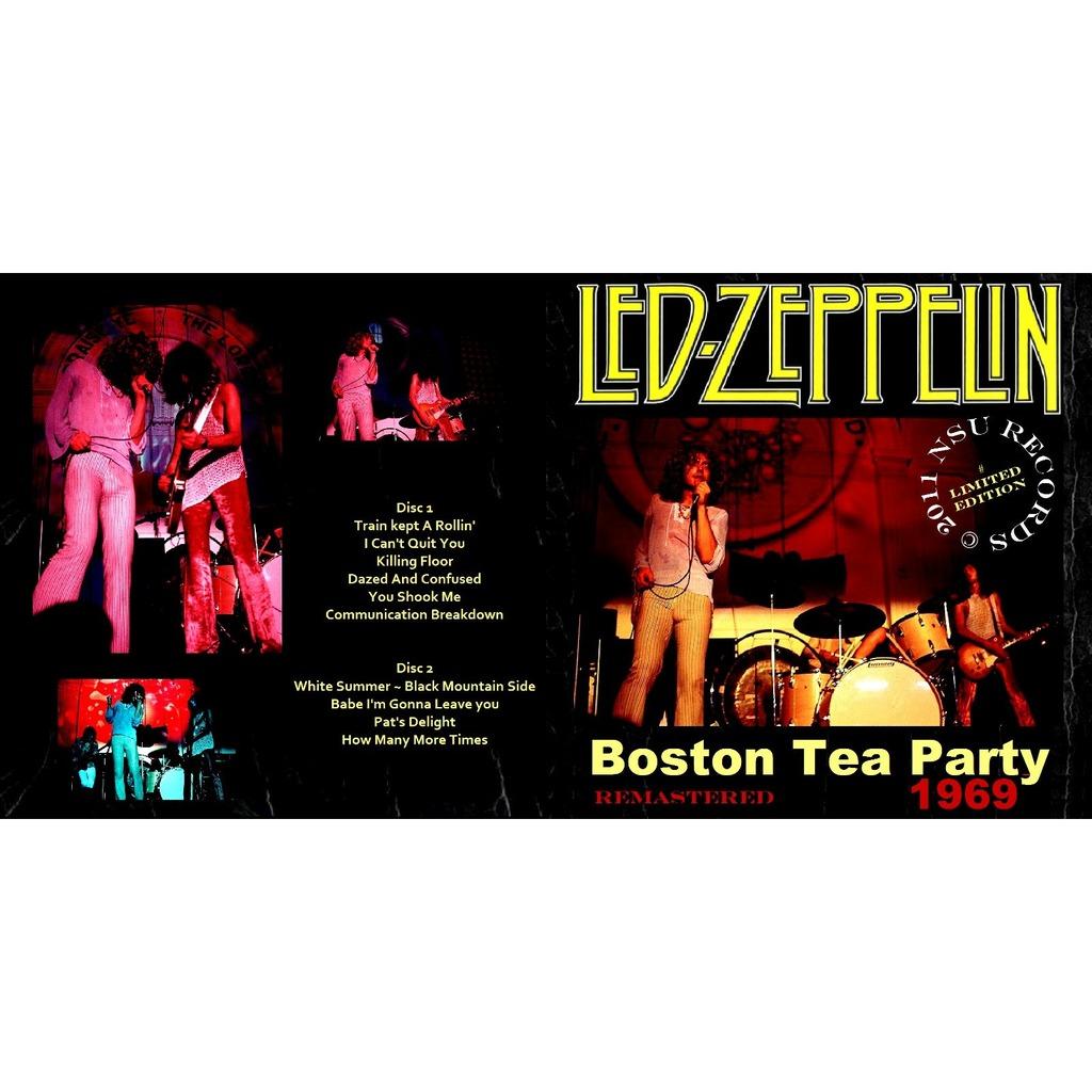 Live Boston Tea Party 1969 Jan 26th Ltd 2cd By Led