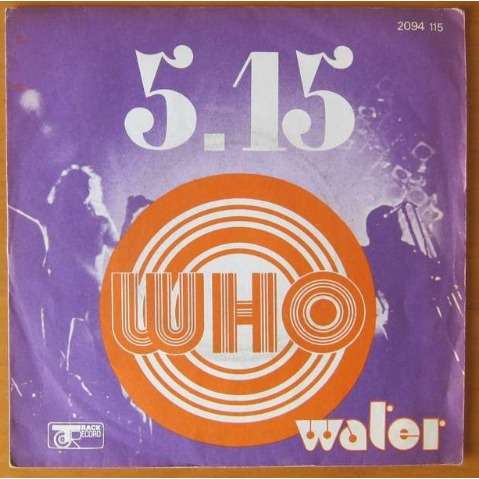 THE WHO 5.15 / WATER