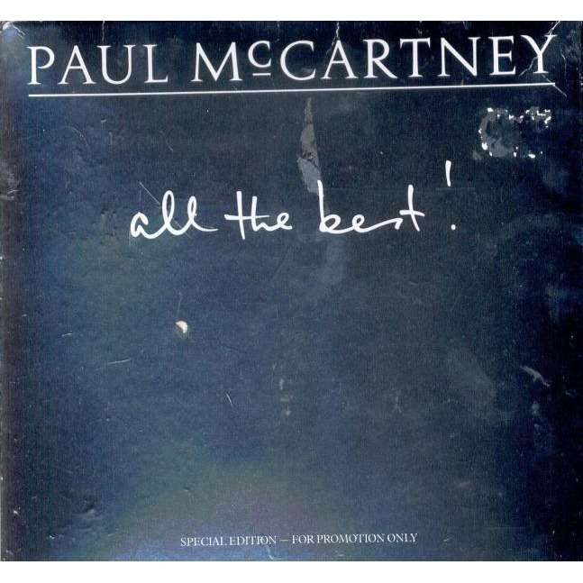 Beatles Paul McCartney All The Best UK Ltd 18 Trk Promo 9x 7singles