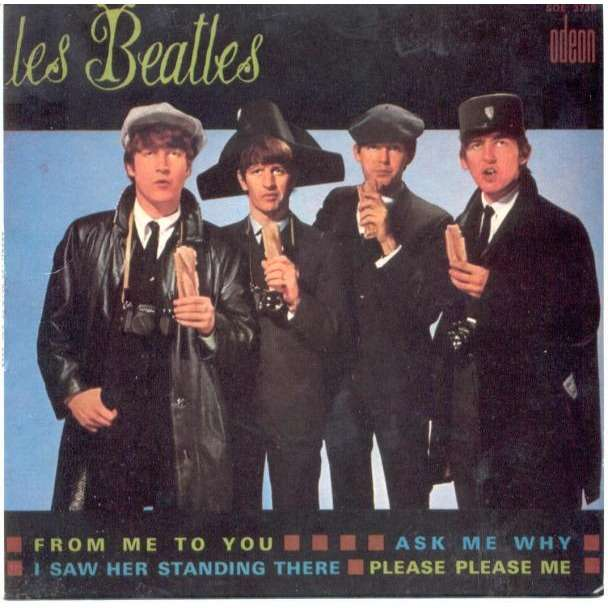 Beatles Les From Me To You French 80s Ltd Fan Club