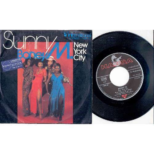 Boney M. SUNNY (GERMAN 1976 2-TRK 7 FULL GREAT PS)