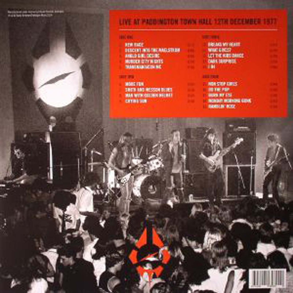 RADIO BIRDMAN live at paddington town hall 1977