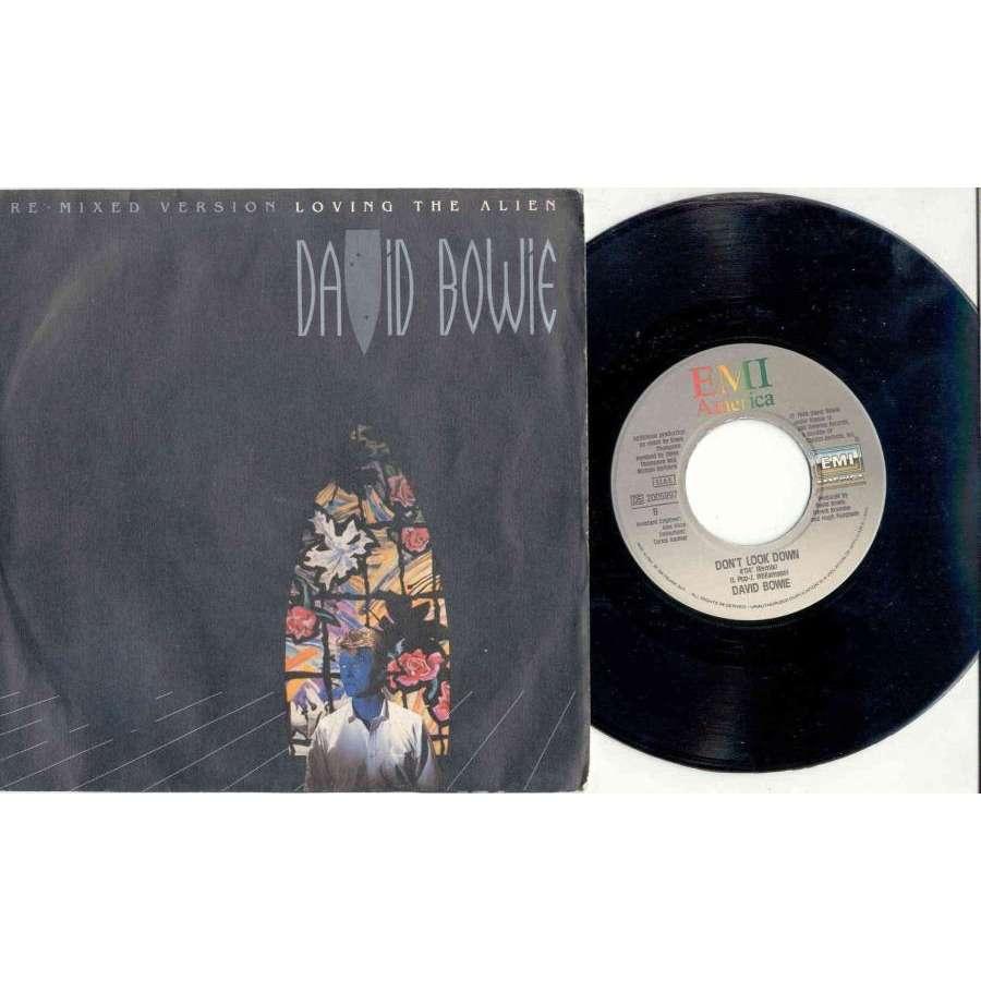 David Bowie Loving the Alien (Italian 1985 2-trk 7 single full ps)