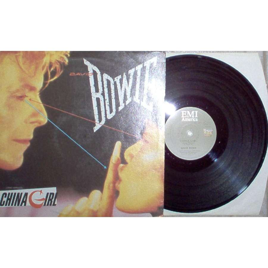 David Bowie China Girl (South Africa 1983 2-trk 12EP full ps)