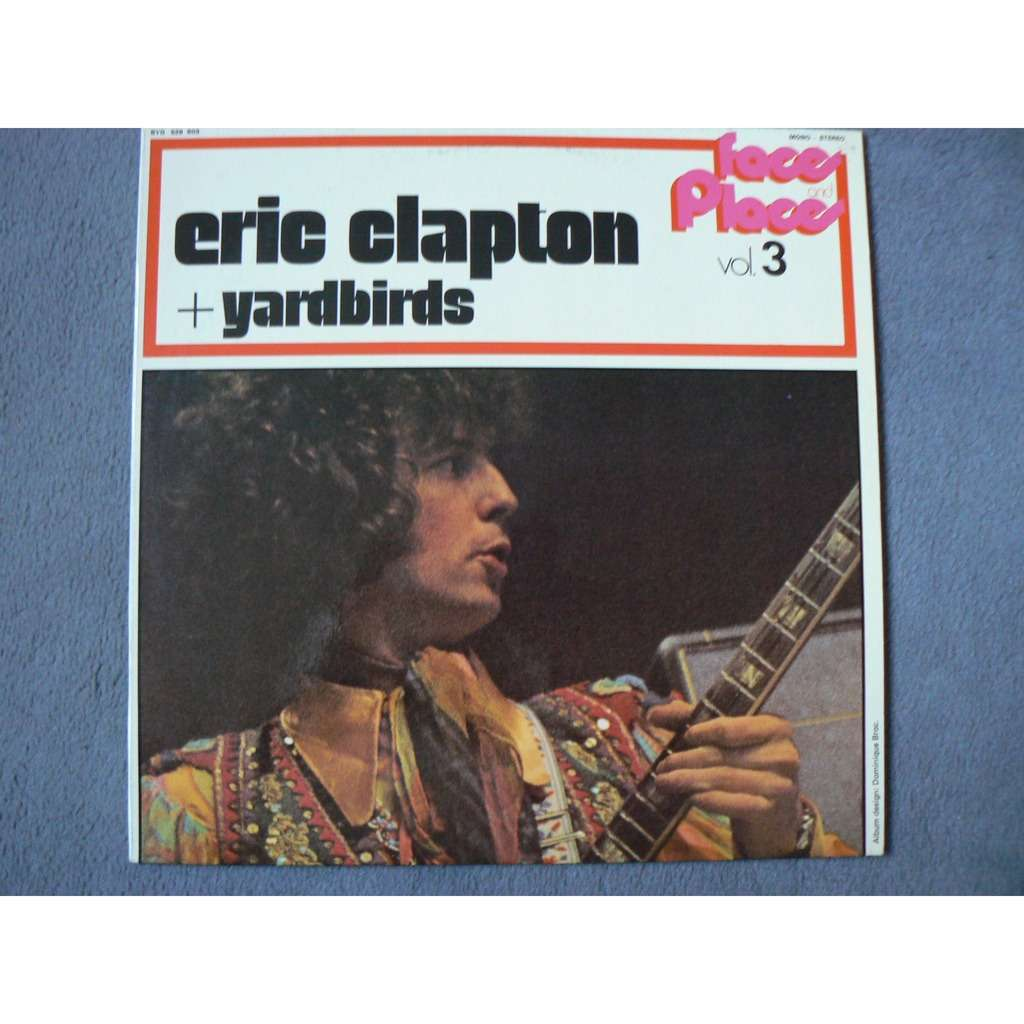 eric clapton + yardbirds faces and places